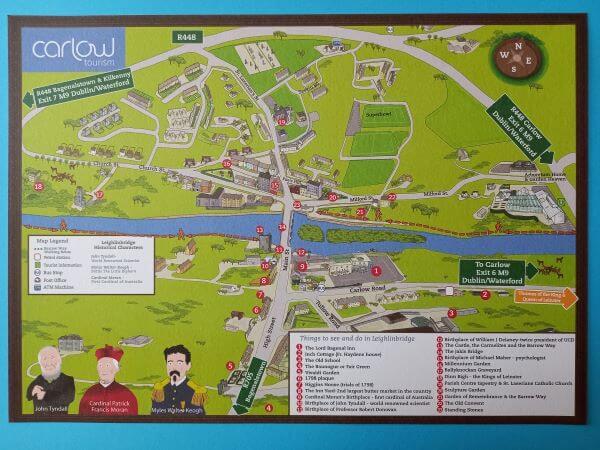 Map of Leighlinbridge
