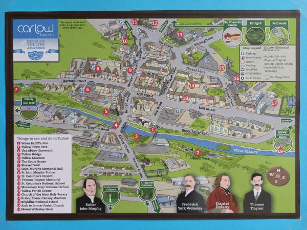 Map of Tullow